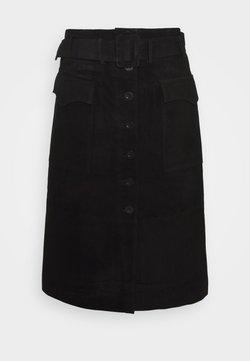 YAS - YASSOMA SKIRT - A-linjekjol - black