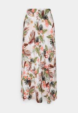 ONLY Tall - ONLPELLA SKIRT - Jupe longue - cloud dancer/palm leaf