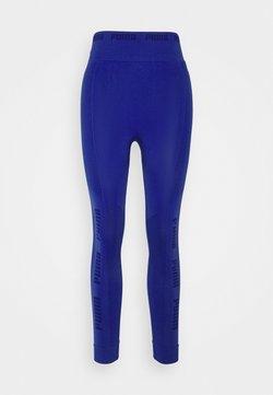 Puma - EVOKNIT SEAMLESS LEGGINGS - Collant - clematis blue