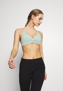 Patagonia - CROSS BETA BRA - Sport BH - gypsum green