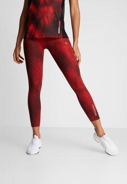 Calvin Klein Performance - Tights - red