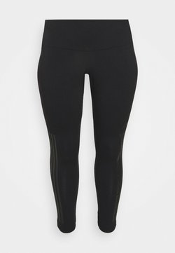 adidas Performance - GLAM TIGHT - Tights - black