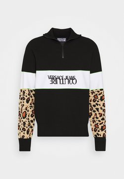 Versace Jeans Couture - SPORTY - Collegepaita - black/brown