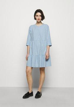 HUGO - KLEVIA - Blusenkleid - light/pastel blue