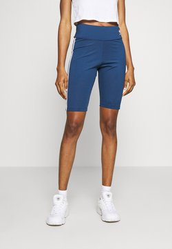 adidas Originals - ORIGINALS HIGH WAISTED TIGHTS - Shorts - night marine/white
