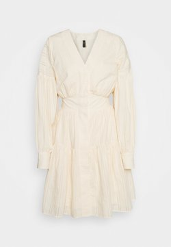 YAS Tall - YASUNITTA DRESS - Korte jurk - eggnog