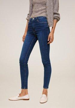 Mango - MIT HOHEM BUND NOA - Jeans Skinny Fit - dunkelblau