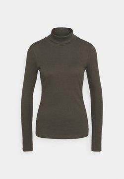 Vero Moda - ROLLKRAGEN - Långärmad tröja - peat