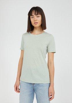 ARMEDANGELS - LIDIAA - T-Shirt print - matcha oatmilk