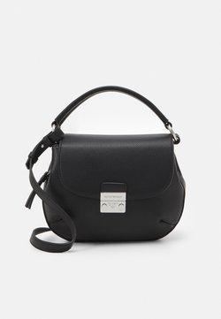 Emporio Armani - GIORGIABORSA A TRACOLLA - Handbag - black
