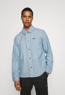 Brixton - SURVEY RESERVE CHORECOAT - Summer jacket - worn indigo