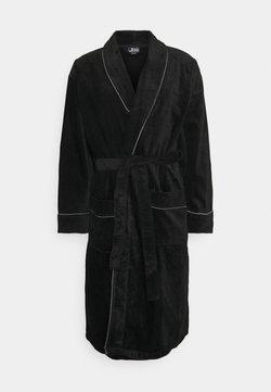 JBS - BATHROBE - Dressing gown - schwarz