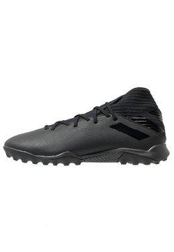 adidas Performance - NEMEZIZ 19.3 TF - Astro turf trainers - core black/utility black