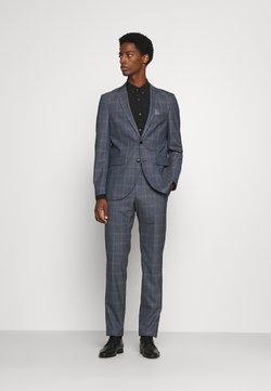 Matinique - CHECK STRETCH - Suit - dust blue