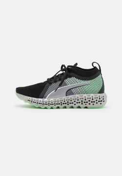 Puma - CALIBRATE RUNNERN  - Zapatillas de running neutras - black/electro green