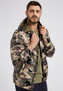 Guess - Winterjacke - camouflage