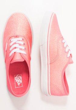 Vans - AUTHENTIC - Sneakers basse - neon glitter pink/true white