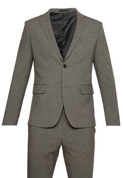 Lindbergh - PLAIN MENS SUIT - Anzug - light brown