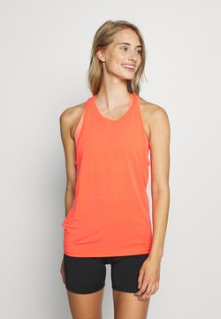 GAP - TIE BACK TANK NON HOT - Funktionsshirt - fiery coral neon