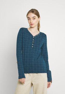 Ragwear - PINCH STARS - Pitkähihainen paita - denim blue