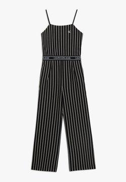 Calvin Klein Jeans - CITY STRIPE STRAP - Combinaison - black