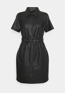ONLY - ONLDIZZY  FAUX DRESS  - Blusenkleid - black