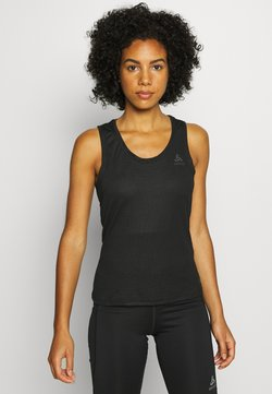 ODLO - CREW NECK SINGLET ACTIVE F-DRY - Camiseta interior - black