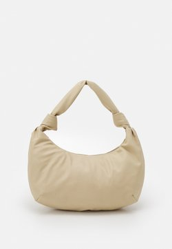 Monki - MAYO BAG - Handbag - beige medium dusty