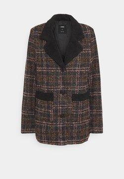 Cotton On - CHECK COAT - Manteau court - brown