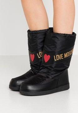 Love Moschino - Śniegowce - black