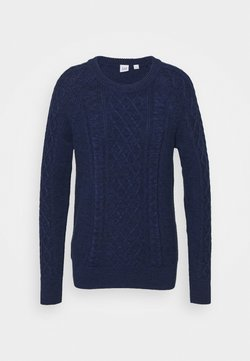 GAP - CABLE CREW - Pullover - navy marl