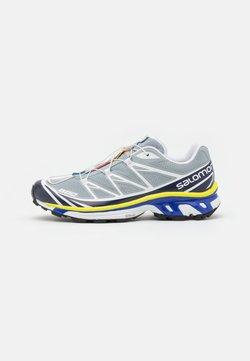 Salomon - XT 6 UNISEX - Sneaker low - quarry/white/primrose