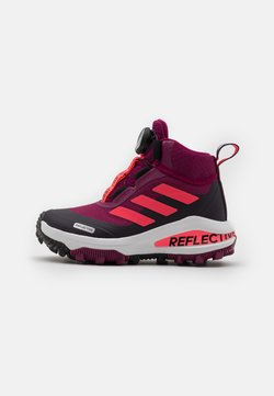 adidas Performance - FORTARUN KIDS NEXT CLOUDFOAM UNISEX - Talvisaappaat - power berry/signal pink/noble purple