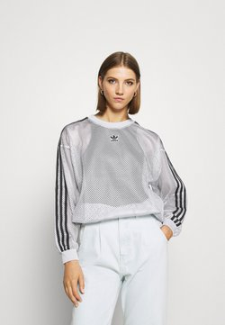 adidas Originals - CREW SPORTS INSPIRED - Langarmshirt - light solid grey
