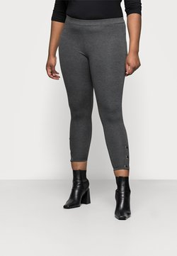 Evans - PONTE POPPER - Leggings - Trousers - grey