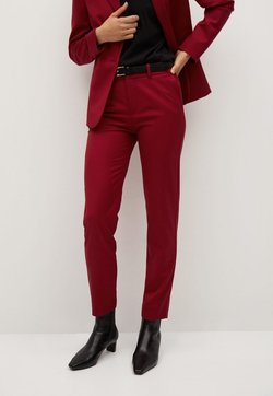 Mango - BOREAL - Spodnie materiałowe - rot