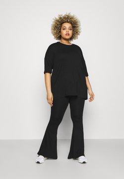 Missguided Plus - SET - Pantalon classique - black