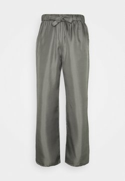 Filippa K - NEA TROUSER - Pantaloni - green grey