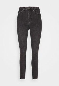 Pieces Petite - PCLILI  - Slim fit jeans - black denim