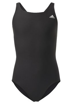 adidas Performance - SOLID FITNESS SWIMSUIT - Swimsuit - black