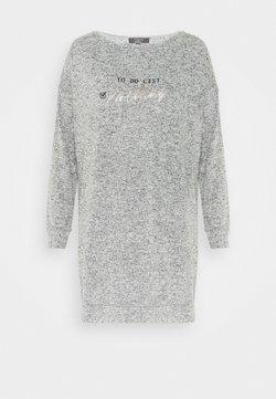 Etam - DEEDEE BIG T LOUNGEWEAR - Nachthemd - gris