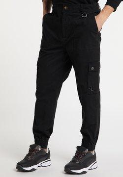 Mo - Cargo trousers - black