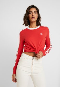 adidas Originals - Longsleeve - lush red/white