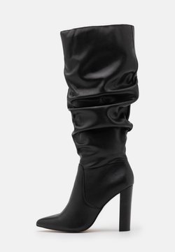 River Island - High Heel Stiefel - black