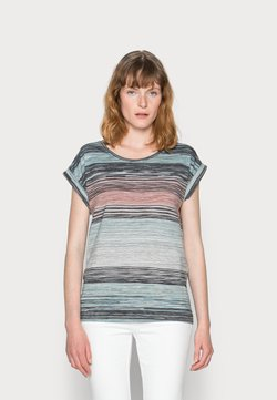 Soyaconcept - GALINA - T-Shirt print - cloud green combi