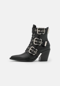 Jeffrey Campbell - CACERES CLOSED - Lace-up ankle boots - black