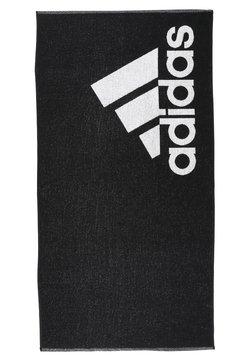 adidas Performance - TOWEL L - Serviette - black/white