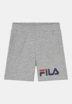 Fila - ZOE BASIC UNISEX - Shorts - light grey melange