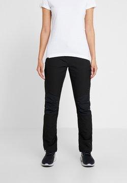 Regatta - WOMENS QUESTRA - Pantalones montañeros largos - black