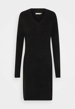 PIECES Tall - PCELLEN  VNECK - Shift dress - black